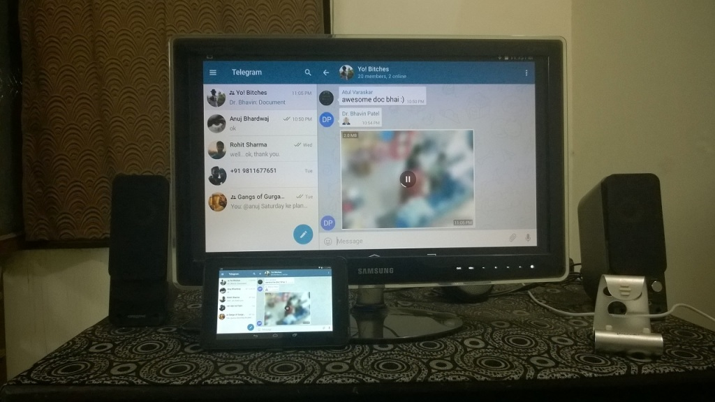Screen mirroring
