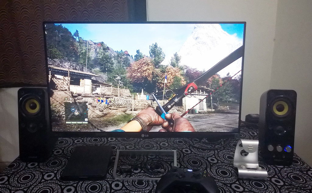 Playing Far cry 4