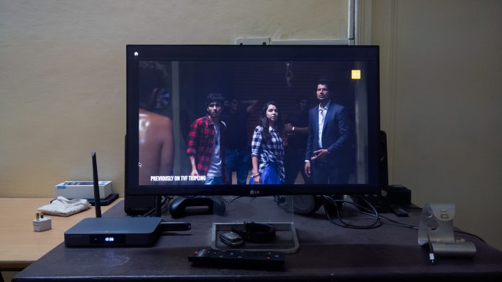 Tripling with Tiago on TVFPlay app