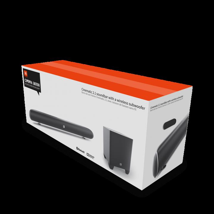 Box of JBL SB 250